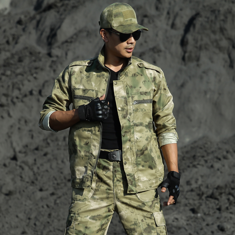 Uniforme Militar Multicam Camouflage Suits Hunting Clothing Men Tactical Special Force Ropa Caza Uniforms Combat Ghillie Suit