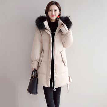 2018 Winter Plus Size Down Coat Women Parkas Female Thicken Warm Hooded Long Down Jacket High Quality Women's Clothing