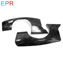 For Nissan Skyline R32 Glass Fiber Rear Fender Body Kit Tuning Part GTR Fiberglass RB Over + Extension(4PCS)
