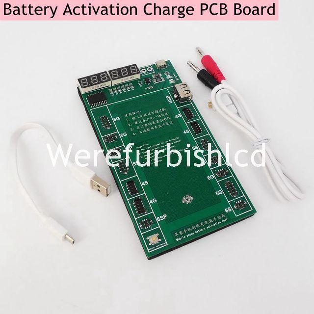 Профессиональные Батареи Активации Заряда PCB Платы с USB Кабелем для iPhone 4 4s 5 5S 5C 6 6 S plus Цепи тестер