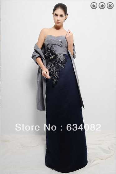 gratis verzending diner jurk 2014 formele jurken vrouwen elegante - Bruiloft feestjurken