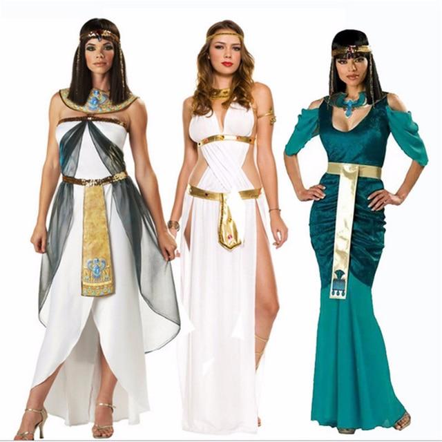2018 Ropa Sexy Fiesta Cleopatra De Athena Cosplay Reina Griega Disfraces Vestido Diosa Calidad Disfraz Alta pArqwpa
