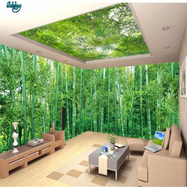 Beibehang Custom tapete riesige panorama nat rliche landschaft bambus landschaft malerei wohnzimmer TV wand dekoration.jpg 640x640 - Panorama Tapete