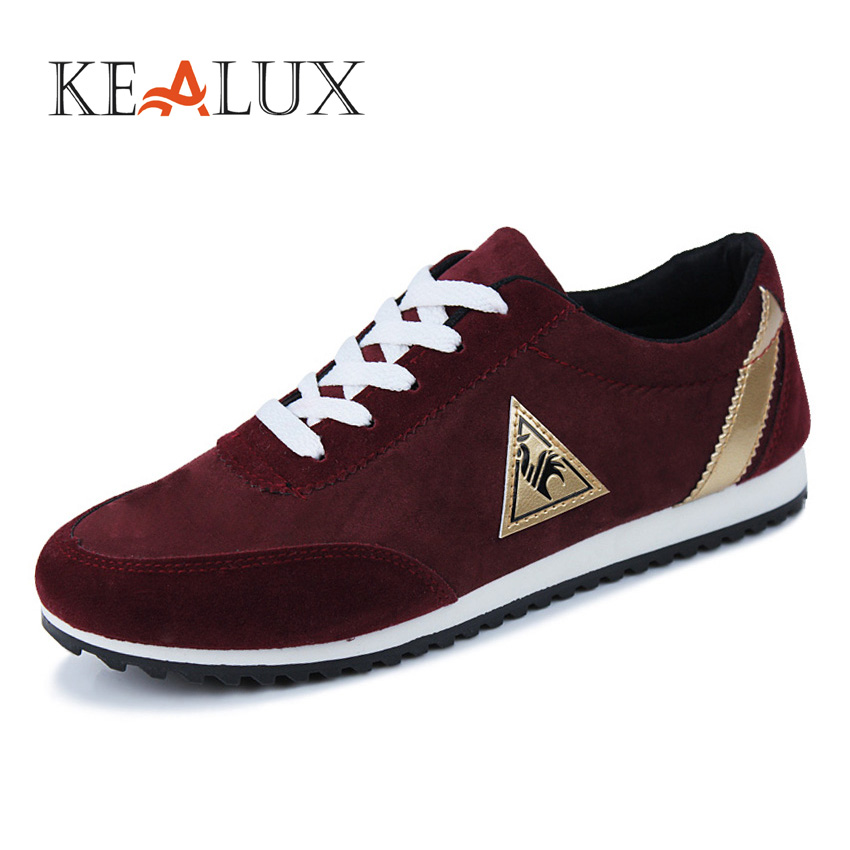 KAELUX 2018 Hot Sale Men's Vulcanize Shoes Solid Lace-up Breathable Fashion Spring/Autumn Animal Print Zapatos Size 39-44