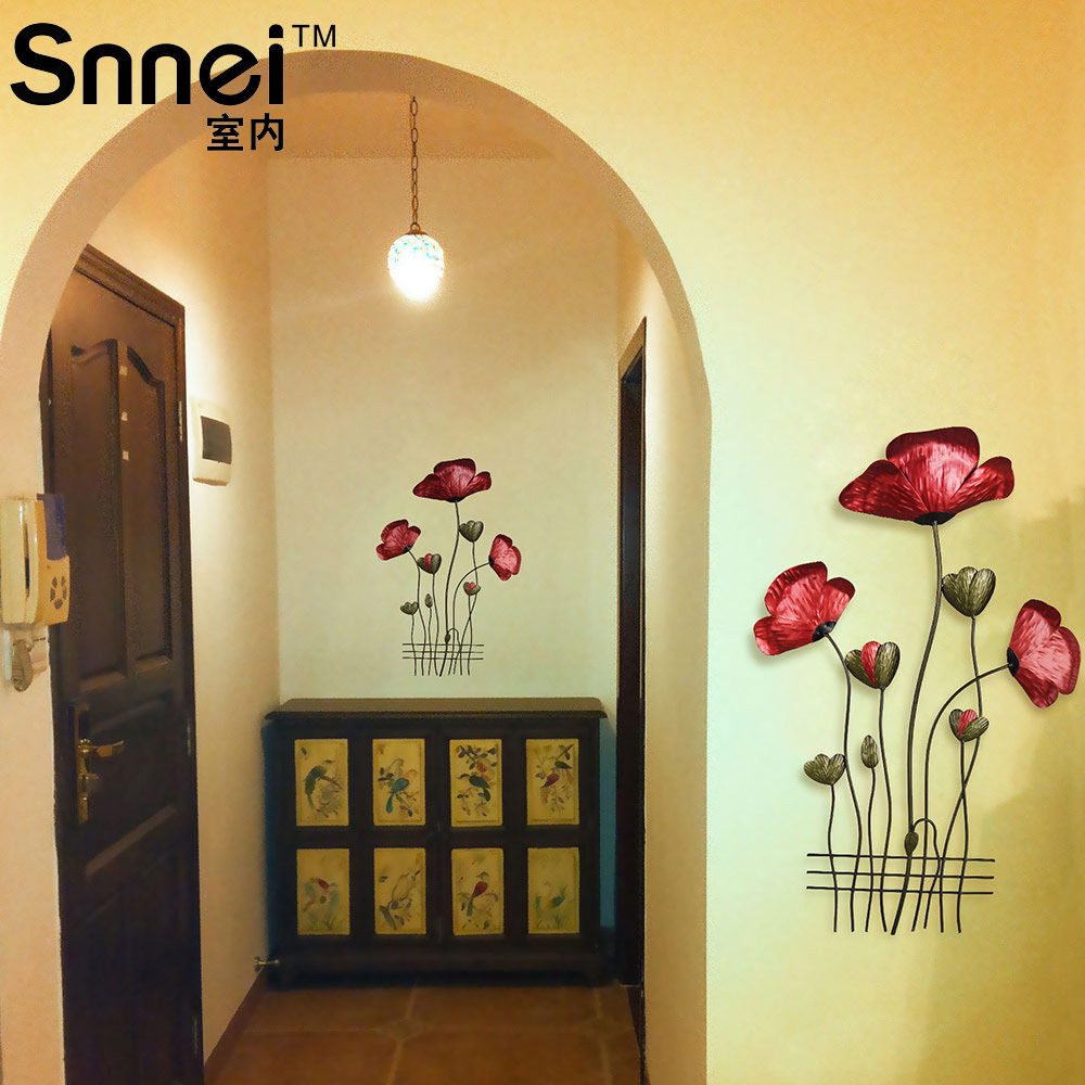 Flower gemstone picture more detailed picture about snnei indoor snnei indoor wrought iron decorative wall pieces danhong creative mediterranean dimensional decorations flower wall hangings amipublicfo Choice Image