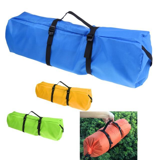 Nylon Waterproof Tent Compression Sack Utility Stuff Bag Sleeping Bag Pack Storage Bag