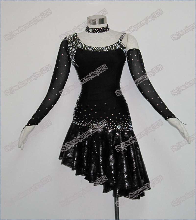 Women Latin font b Dance b font Dress Women Ballroom Dancing Dress Latin font b Dance