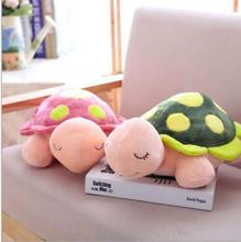 WYZHY cartoon little turtle plush toy pillow bed decoration gift for children 30cm