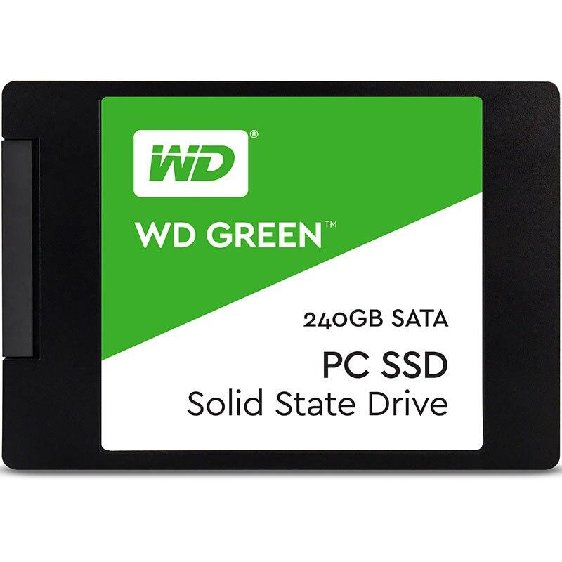 WD GREEN PC SSD 240GB SATA 3 laptop internal sabit hard disk drive interno hd notebook harddisk disque 240gb  Western Digital