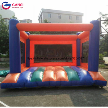 цена на Commercial quality inflatable bouncy House for Kids outdoor play games,Inflatable Trampolines bouncer with free air blower