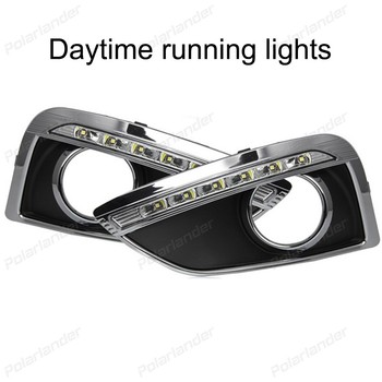 1 set auto parts Daytime running lights car styling For H/yundai I/X35 2010-2013