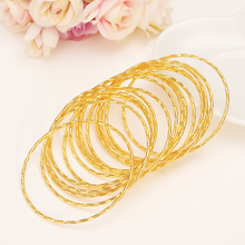 1 pc Gold Big  Bangle for Women Dubai india Bride Wedding adult girl Africa Bangle Arab Jewelry Charm Bracelet Christmas gifts jhplated one piece womens wedding bridal bangle bracelet dubai bangle jewelry africa arab gold color