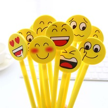 12PCS Funny Gel Pen Emoji Party Favor Kids Learing Writing Drawing Toy Gift for Girl Boy Souvenirs Baby Shower Decoration