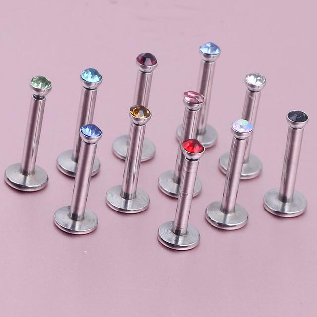 16G Cute and Tiny Monroe Piercing Lip Jewelry