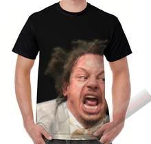 Camiseta de manga curta t camisa de verão masculina camisetas eric andre scream impresso feminino engraçado camiseta de manga curta casual tshirts