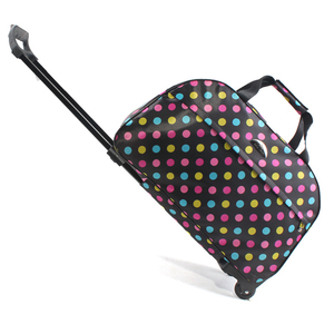Image 4 - Luggage Bag Travel Duffle Trolley bag Rolling Suitcase Trolley Women Men Travel Bags  With Wheel Carry On bag