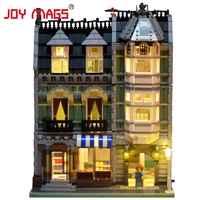 JOY MAGS Led Building Blocks Kit Light Up Kit For Green Grocer Compatible With LEGO 10185