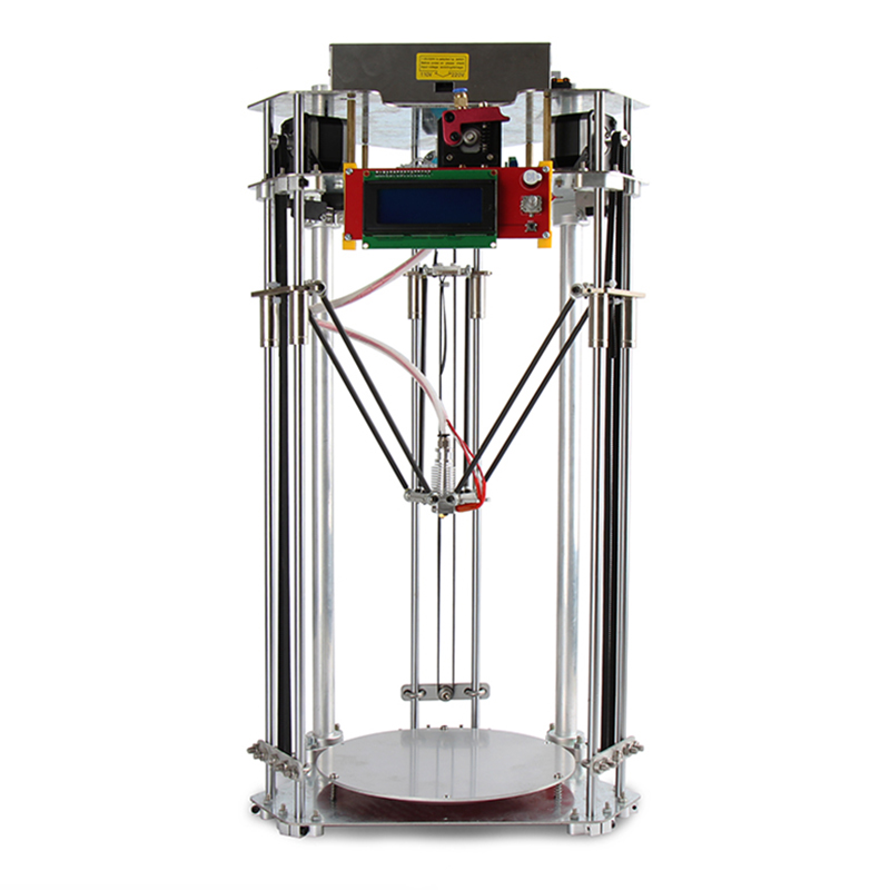 C18 2017 3D Printer Full Metal High Precision Delta imprimante with hot bed DIY Kit Best Entry-Level