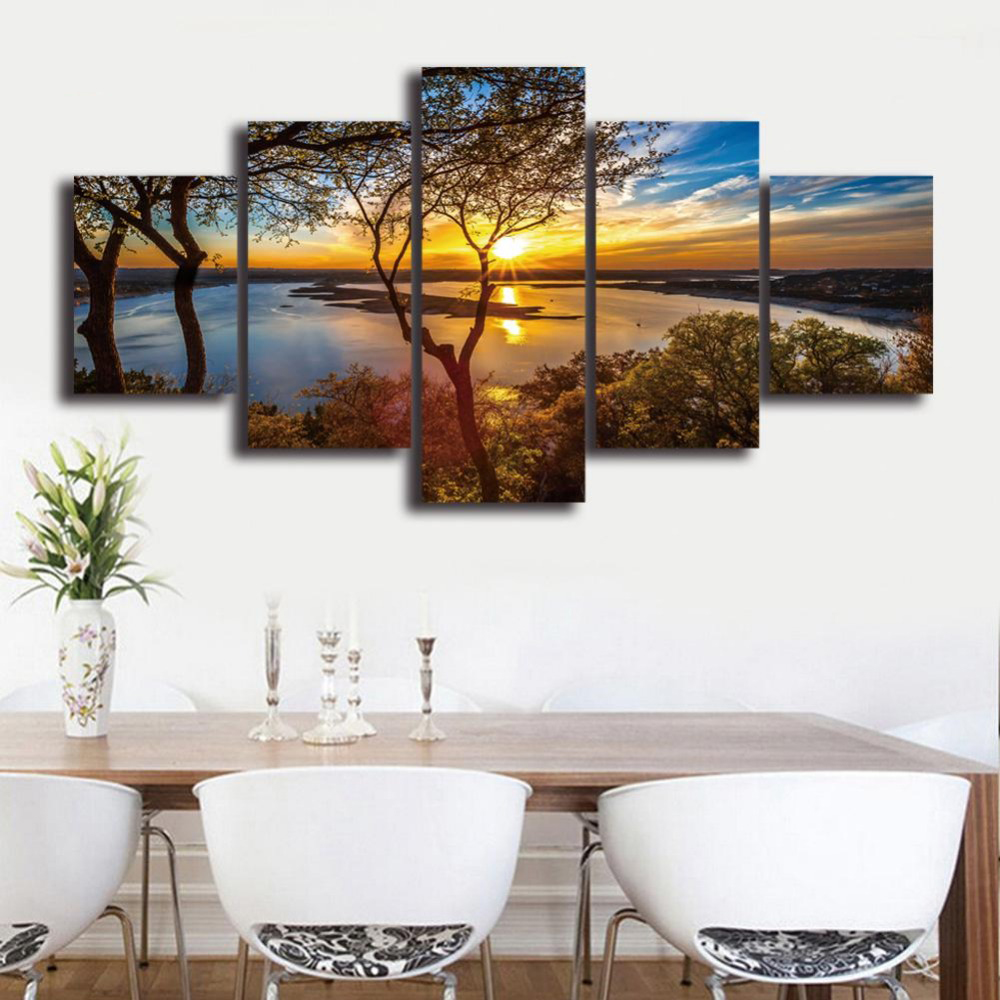 HD-Landscape-5-Panel-Wall-Art-Canvas-Painting-Printed-Framed-Pictures-Home-Decor-Large-Poster-For (2)