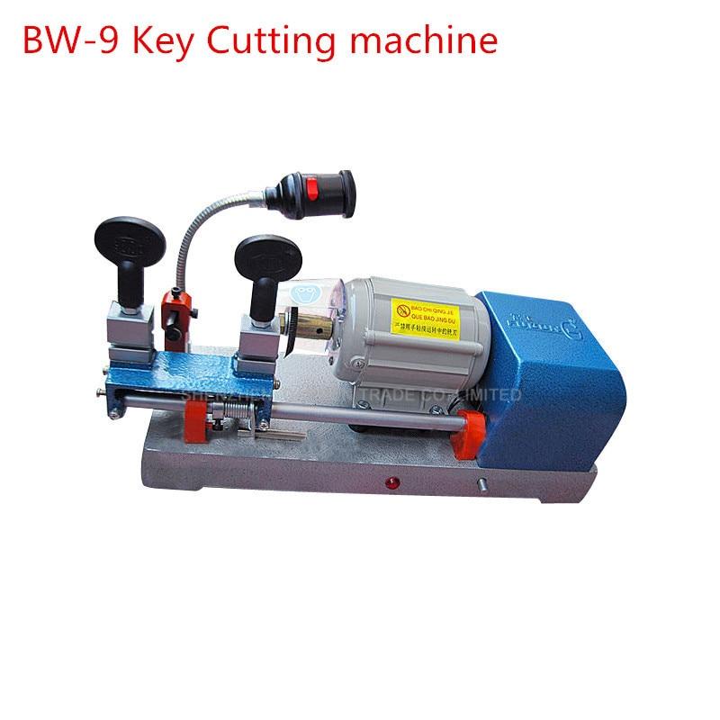 New Multi-Functional Chucking Key Duplicating Machine 220v/50hz Key Making Equipment For Locksmith BW-9 термоноски guahoo outdoor light 52 0933 cw bk