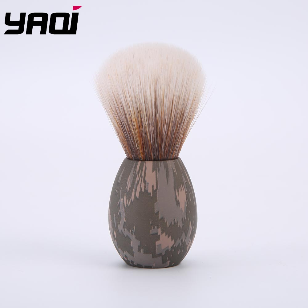Yaqi Bunny Tuxedo Knot Shave Brush In Camouflage Version For Easter Day