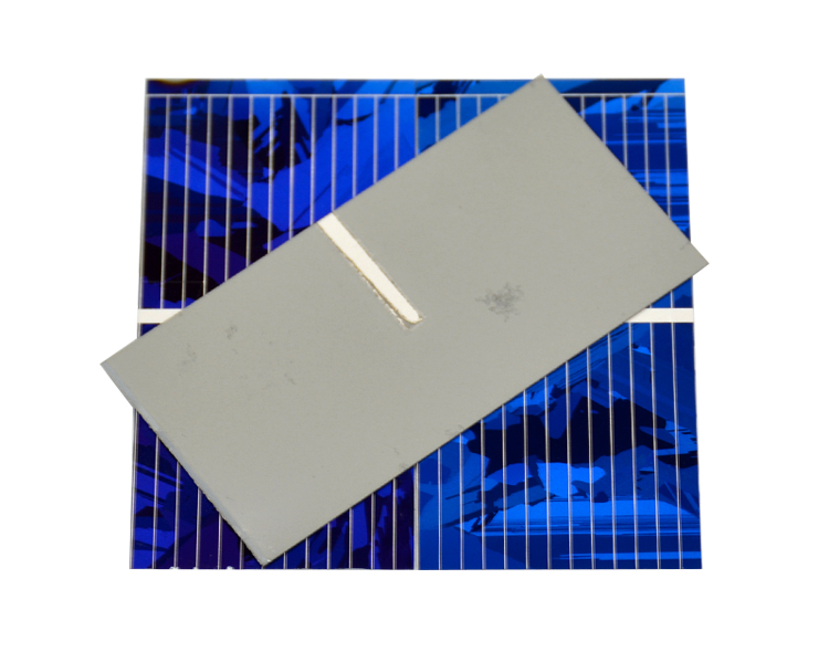 Aoshike 0.5V 0.45A Solar Panel Polycrystalline Silicon Solar Cells Solar Module DIY Solar Sunpower Charger Power 52*26mm 100pcs 10