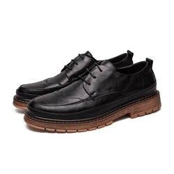 LettBao/Новые весенне-осенние модные Оксфордские деловые мужские туфли из искусственной кожи высокого качества, Мужские модельные туфли