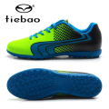 TIEBAO Brand Professional Soccer Shoes Adult Outdoor Sports TF Turf Sole Sneakers Men Teenagers Athletic Training Football Boots