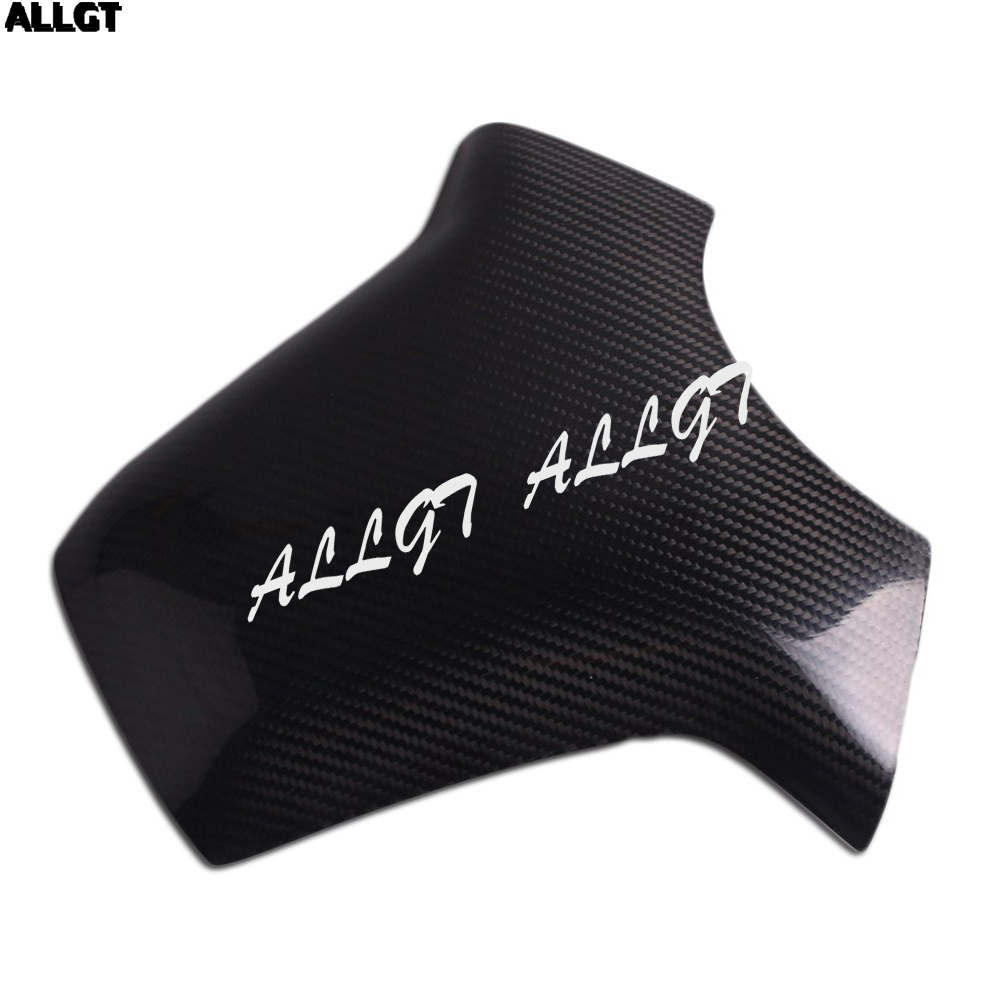 ALLGT New Carbon Fiber Fuel Gas Tank Cover Protector For Honda CBR1000RR 2004 2005 2006 2007 arashi motorcycle radiator grille protective cover grill guard protector for 2008 2009 2010 2011 honda cbr1000rr cbr 1000 rr