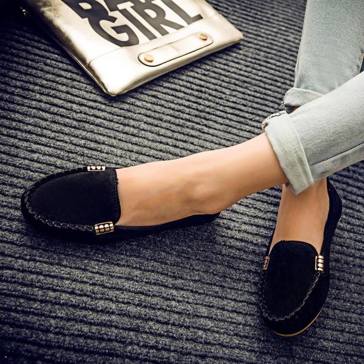 Sur Zapatos Confortables Des Mocassins Jkm90 Glissement Noir vert Muje Ballerines rouge gris Bonbons Couleur Femme Chaussures Femmes Appartements or Plates Dames OSq7YS