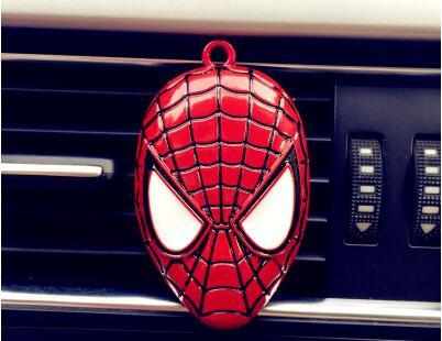1PC Cartoon car perfume Air conditioner Outlet perfume automobile decoration Car Air Freshener Car Styling Perfumes