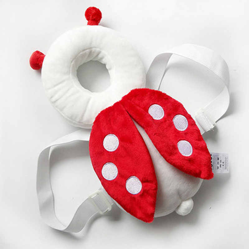 Baby head protection pad  toddler head pillow  baby cute wings drop pad  30cm  pillows brand many color