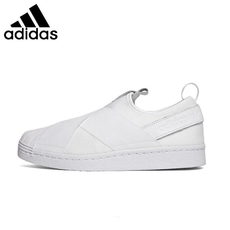 ADIDAS Superstar Deslizar Sobre Estabilidade Original Unissex Sapatos de  Skate Respirável Leves Tênis Para Homens E 5684716e4aee4