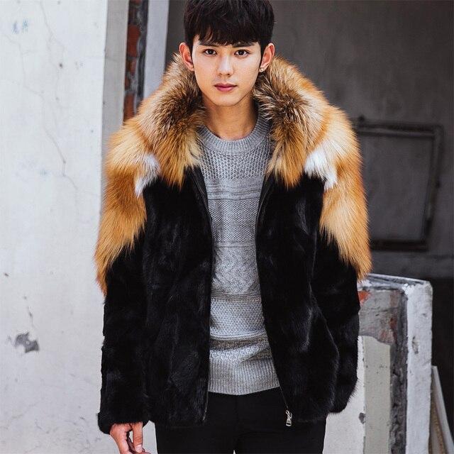 Aliexpress.com : Buy CR103 Winter warm Men'S fur coats pieces of ...