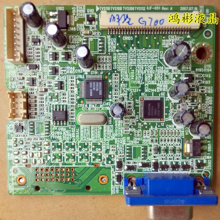 New benq g700ad g700a driver board ilif-051 491061300100r g702ad.