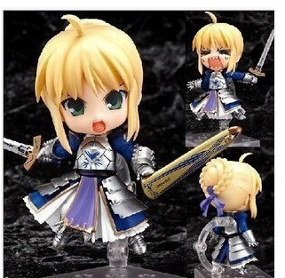 Q version of the 121# animation project doll wholesale saber Sebastian Knight can do super adorable doll doll face a sword a knight of the seven kingdoms