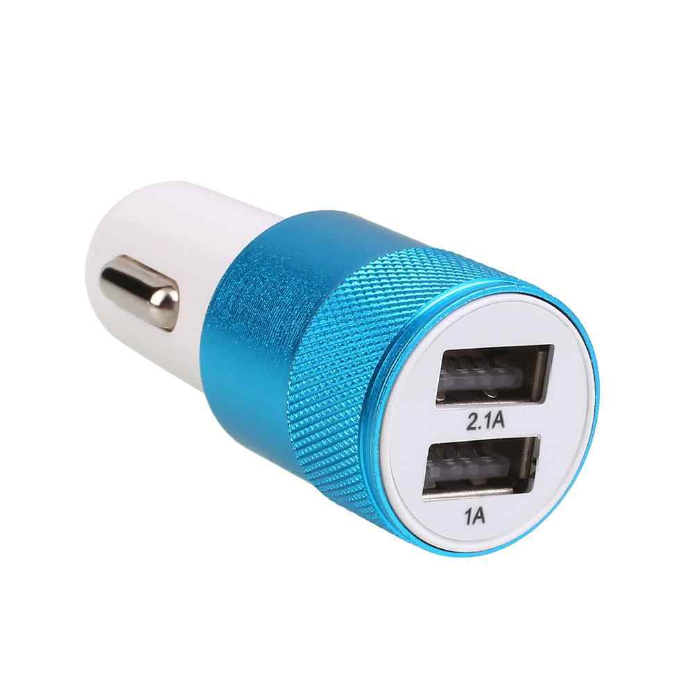 2 in 1 Dual USB Car Charger Fast Charging Socket ไฟแช็ก 2.1A Universal