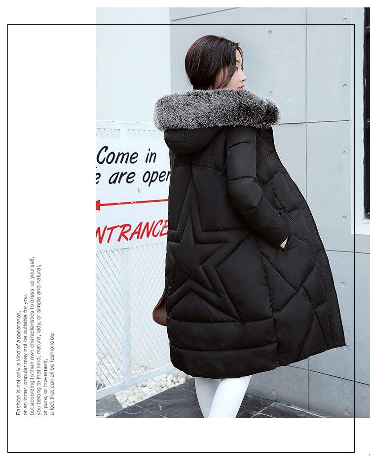 US $65.68 |Winter 2017 New Haben Einen Hut Lange Baumwolle Jacke Frauen Mantel Winter Dicke Mäntel Weibliche Oberbekleidung Frauen Parka Mäntel Warme