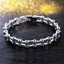 Motorcycle Chain Bracelet [8mm]