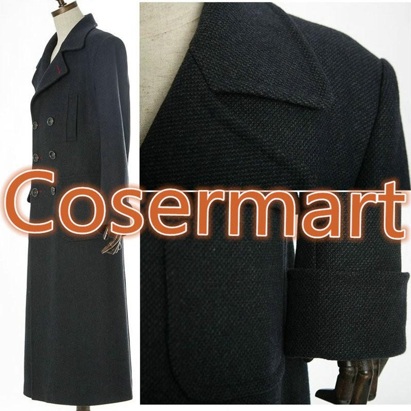 Sherlock Holmes Tv Long Wool Winter Coat Jacket Cosplay Costumes3