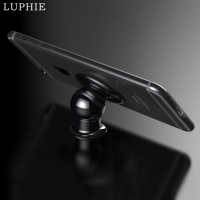 LUPHIE Universal Magnetic Mobile Phone Car Holder Stand For IPhone Luxury 360 Degree Rotatable Hard Metal