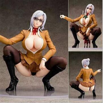 New Creative Prison School Meiko Shiraki Sexy Anime Action Figure PVC New Collection figures toys Collection for Christmas gift 12cm one piece silvers rayleigh anime action figure pvc new collection figures toys collection for christmas gift with box