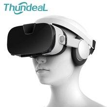 Fiit VR 3F 112 FOV 3D VR Glasses Virtual Reality Helmet Stereo Headset Cardboard Immersive 3D VR BOX for Smartphone Cardboard