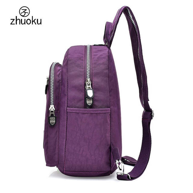9e67126187 placeholder Mini Backpack Rucksack good quality Waterproof nylon Purse Very  cheap price small double Shoulder bag 15