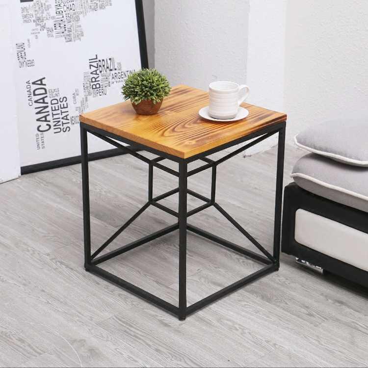 Customized Square Metal Tea Table Unique Creative Side Table Coffee Table Coffee Tables Aliexpress