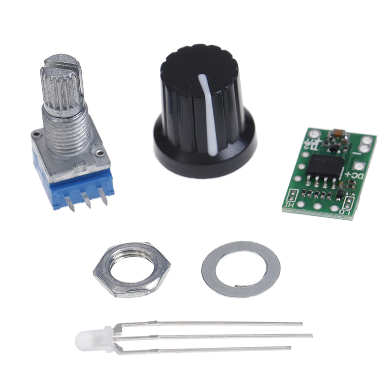 New Hot 616dev V5.5 DC 12-24V Mini Temperature Control Board LED DIY Kit For T12