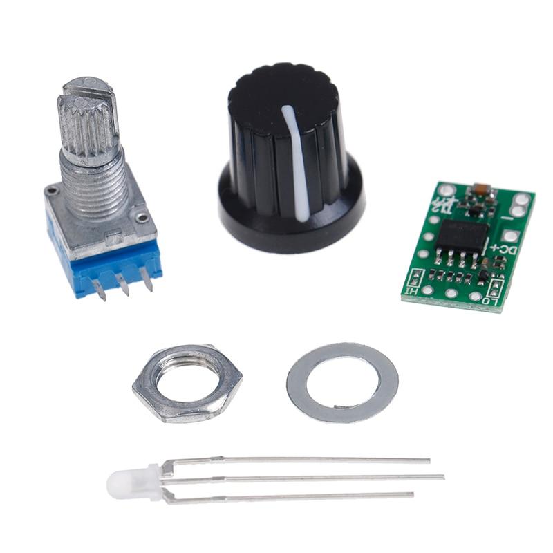 New Hot 616dev V5.5 DC 12-24V Mini Temperature Control Board LED DIY Kit For T12
