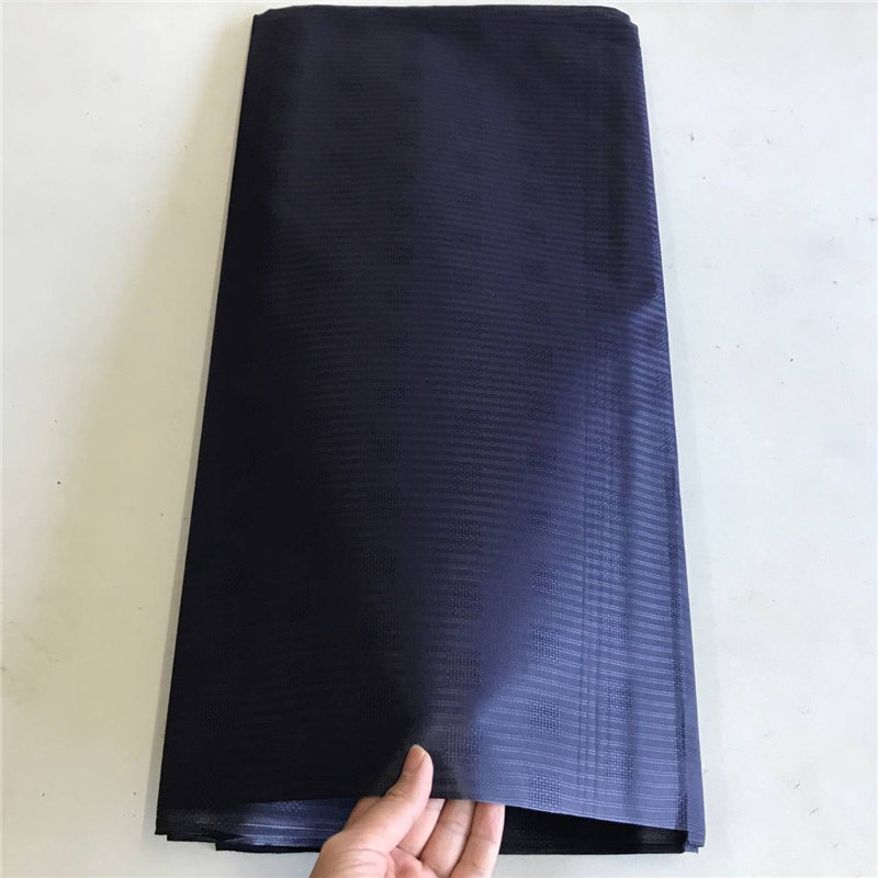 Nigeria Style Dark Navy Blue Color New Atiku Pure Cotton Atiku Material African Design Cotton Fabric For Men Cloth 10Yards/Pc 30Nigeria Style Dark Navy Blue Color New Atiku Pure Cotton Atiku Material African Design Cotton Fabric For Men Cloth 10Yards/Pc 30