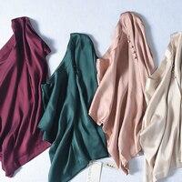 Summer Female Silk Blouse 92.1% Natural Silk Tops and Blouses Women's elegant O neck Short Sleeve Silk Work office Blusas