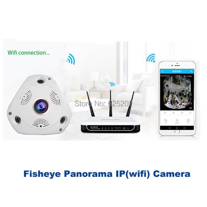 2017 Sıcak HD 960 P 1.3MP Balıkgözü Panoramik SD Kart IP Kablosuz - Güvenlik ve Koruma - Fotoğraf 5